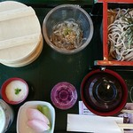 信州そば蔵長野店 - 料理写真:二の蔵膳(税込み1620円)