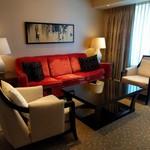 Sheraton Macao Hotel, Cotai Central - リビング…センス悪っ