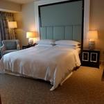 Sheraton Macao Hotel, Cotai Central - ベッドは普通。シーツが上質。
