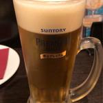73036650 - 生ビール(中ジョッキ) ¥590