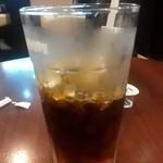 ドトールコーヒーショップ ペルチ土浦店 - アイスコーヒーM ¥270 だいぶ飲んぢゃってる…(^^;