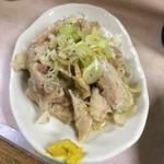 岐阜屋 - 蒸し鶏