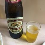 岐阜屋 - 瓶ビールは大瓶