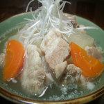 手羽唐屋 旦八 - 豚の塩煮込み ¥560-