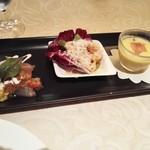 キハチ - コースの前菜