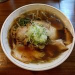 元祖札幌ラーメン もぐら - しょうゆラーメン(700円)