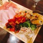 バルバロ - 前菜盛り合わせ