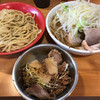 ラーメン二郎 - 料理写真:【2017.9.13】シークァーサーつけ麺¥930+炙崩豚(イルカ)¥100