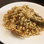 四川料理 巴蜀 - 海老の米炒め