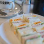 ワンモア - 火腿蛋三明治(ハムエッグ・サンドヰチ)+咖啡(こおふィ)、一式(ひとそろひ)