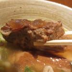 琉そば - 軟骨ソーキ肉
