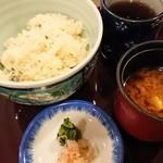 日本料理 浜夕 - タコの釜飯