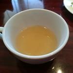 サイトウ洋食店 - ふくしまスイーツ+ランチセット(1000円) スープ ※スイーツパスポート使用