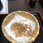 73053053 - そこそこ食べちゃったけど揚げ蕎麦(^^)