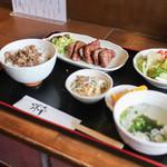 あっかんべぇ - でらたん焼き定食(極厚牛たん)1.5倍☆