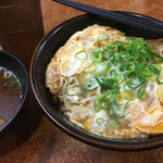かつ丼吉兵衛 - カツ丼 [並] + 味噌汁