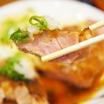 豚々亭 - おろしトンテキ定食