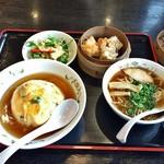 餃子の王将 - 天津飯セット