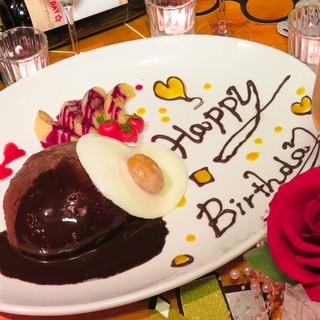誕生日は「ハンバーグそっくりケーキ」でサプライズ★☆
