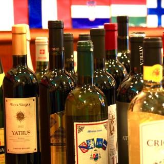 徹底的にこだわったヨーロッパオンリーのワインは当店の真骨頂!
