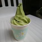 茶仙庵 - 料理写真:抹茶ソフトクリーム