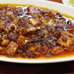 清福 - 料理写真:本格四川麻婆豆腐