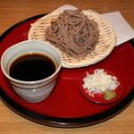 酒寮 霞 - 会津檜枝岐蕎麦と霞特製めんつゆ