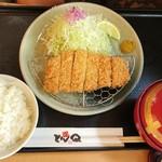 73061609 - 赤城豚ロースかつ定食(小・120g)…税込1328円