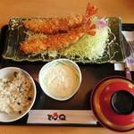 73061639 - 天然大海老フライ定食(2本)…税込3218円