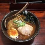 麺処 田ぶし - ラーメン+穂先メンマ