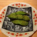 鮨 尚充 - 茶豆