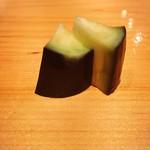 鮨 尚充 - ナスの香の物