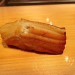 鮨 尚充 - 穴子。塩で