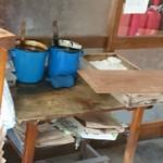 戸田うちわ餅店 - ゴマ蜜  と 黒蜜  と 二種類です