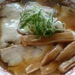 あお鬼 - チャーシュー麺