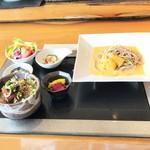 73066266 - 雲丹蕎麦御膳・神戸牛しぐれ煮ごはん