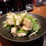 麺や而今 - ☆とりむねポン酢(#^.^#)☆