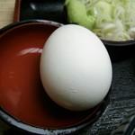 そば作 - 茹で卵