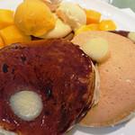 73067957 - ホテルニューオータニ特製 マンゴーパンケーキ