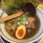 華火 - 魚介醤油ラーメン