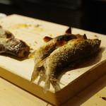 佳肴岡もと - 清滝川(きよたきがわ)の天然鮎