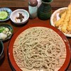 山の飯 沙羅 - 料理写真:天ざるそば 1620円 (そば湯あり、そば茶なし)
