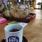 げんぶ堂 - 料理写真:大きな猫びんにたっぷり試食♫(2017.09現在)