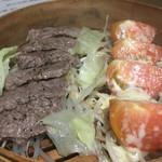 熟成本鮪と熟成黒毛和牛A5と熟成鹿肉の食べ比べ!魚せん -