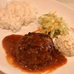 224 COLOURS - 粗挽バンバーグ定食(粗挽バンバーグ定食)