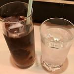 224 COLOURS - アイスコーヒー(粗挽バンバーグ定食)
