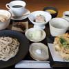 蕎香 - 料理写真:平日お昼限定「蕎花ご膳」が新しく始まりました!当店で人気のメニューが一度に楽しめます♪