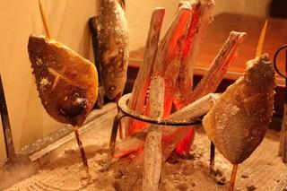 産地直送 お魚とお野菜 海畑 - 地魚の囲炉裏焼き