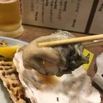 海鮮立呑 牡蠣スタンド - 宮城持ち上げ 応援♪