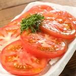 じとっこ組合 - 冷やしトマト 〜ヒエヒエ&あっさり箸休め♪〜